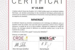 CertificatMinergieLeValais